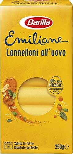 Barilla Pasta all' Uovo Le Emiliane Cannelloni, 250g