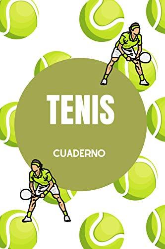 Tennis Cuaderno: Notebook para Escribir | Regalo de Tenis para el Jugador de Tenis / Perfecto para Escribir sus Pensamientos