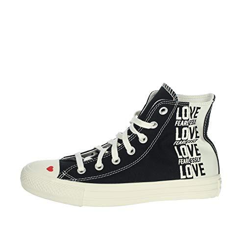 Converse Chuck Taylor All Star Hi Sneakers voor dames, zwart