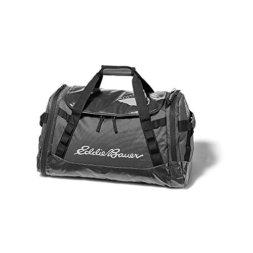 Eddie Bauer Unisex-Adult Maximus 2.0 Duffel - 45L, Onyx Regular ONE SIZE