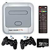 Kinhank Super Console X PRO Video Game Console Built in 50,000+ Games,2 Gamepads,Game Consoles for 4K TV Support HDMI Output, Support 5 Players,LAN/WiFi,Gifts for Men Who Have Everything(PRO-256GB)