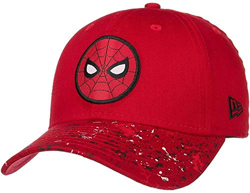New Era - Marvel Spiderman Kids 9Forty Snapback Cap - Rot Größe Toddler (18 Monate - 4 Jahre), Farbe Rot