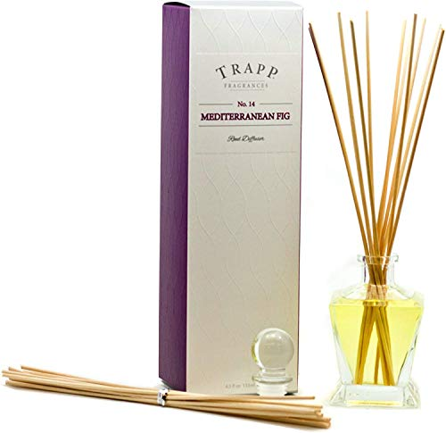 Mediterranean Fig No 14 - Luxury Reed Diffuser Kit Gift Boxed - Trapp Candles