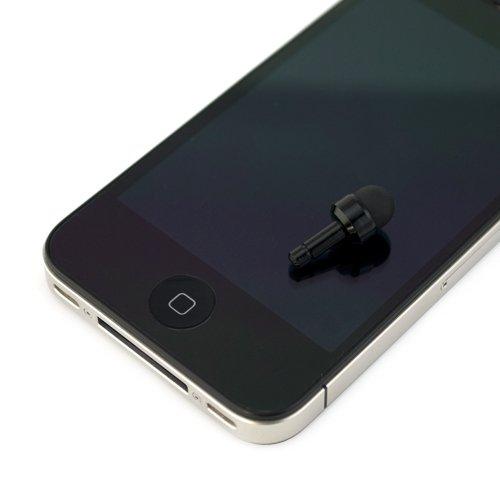 GTMax 5 Pcs Mini Stylus/Styli with Cap -Black