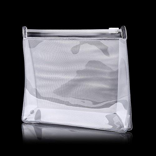 suoryisrty Sac à cosmétiques en PVC Portable Étanche Voyage Maquillage Organisateur-Articles de Toilette Contenants de Liquide pour Le Maquillage cosmétique avec Le Sac de liquides de l'aéroport