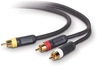 Belkin PureAV AV22102-06 6-Foot Composite Video and Audio Cable Kit