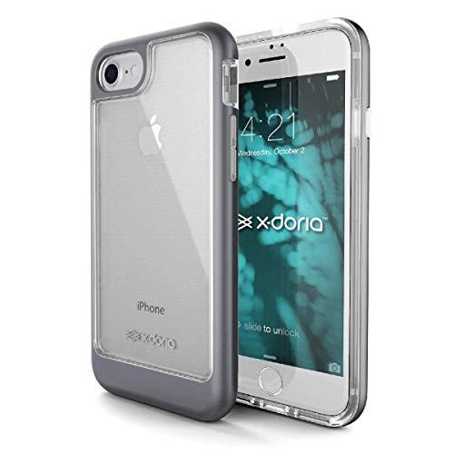 Capa Para Iphone 7 Plus Iphone 8 Plus Anti Impacto, X-Doria, XD63-01, Cinza