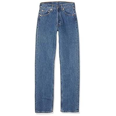 Levi's Damen 711 Skinny Jeans Blau Stonewash