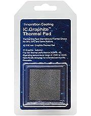 ZAK168 - Almohadilla térmica de Grafito, Almohadilla térmica para Ordenador Reutilizable con Alta conductividad y refrigeración para CPU, No Cero, como se Muestra en la Imagen, icg40