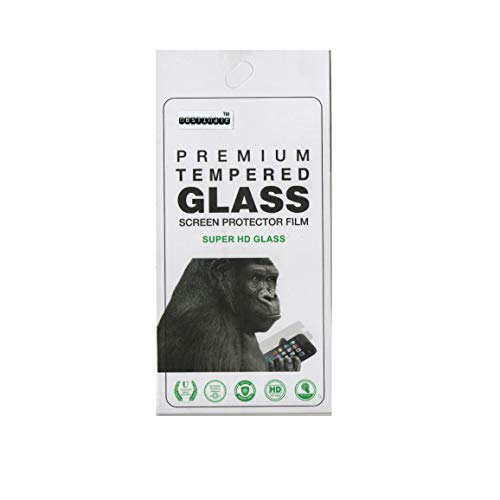 OBSTINATE Tempered Glass Screen Protector for Panasonic Eluga i8 (Transparent)