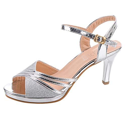 scarpe donna decolte tacco medio primavera Jimmackey Scarpe Donna Ballo Latino-Donna Scarpe da Ballo