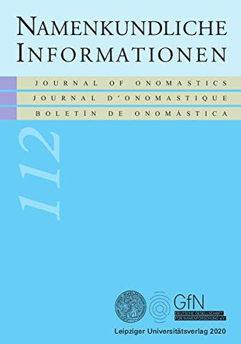 Namenkundliche Informationen 112
