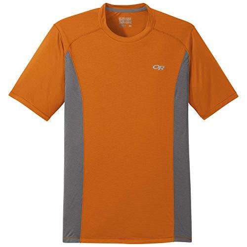 Outdoor Research - Camiseta de eco S/S, cobre, estaño, L