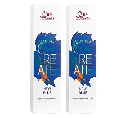 2 er Pack Color Fresh Create direktziehende Tönung New Blue 60 ml