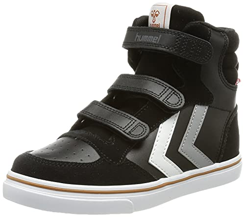 hummel Stadil Pro Jr Sneaker, Black, 35 EU