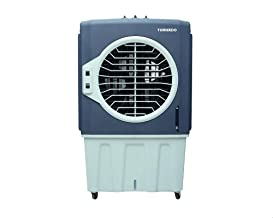 Tornado TE-80AC Air Cooler with 3 Speeds and Carbon Filter, 80 Liters - Grey
