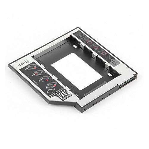 CMDZSW Adecuado para SATA 2º HDD Caja De Disco Duro SSD 9.5 Mm para Bandeja De Disco CD/DVD-ROM para HDD SAPAII SDD Duro Soporte (Color : As The Show)