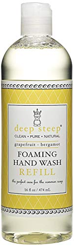 Moussant Hand Wash Refill, Pamplemousse - Bergamote, 16 fl oz (474 ??ml) - Steep profonde