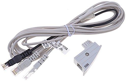 Original AVM Fritz!Box Y Kabel DSL Internet RJ45 Y Kabel + TAE Adapter 4m