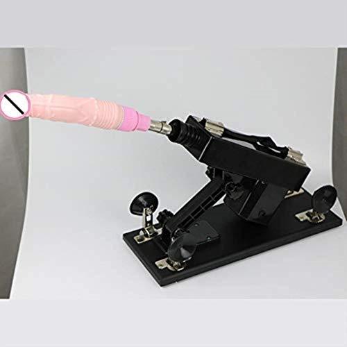 ZHANGYU Juguete increíble Juguetes Femeninos Máquina automática Herramienta de Masaje Ametralladoras Telescópicas Ajustables de Varias velocidades for Mujeres Blow-Job Six Toys Diseño Simple y