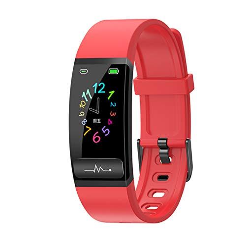 FFF8 Pulsera Inteligente M8 Presión Arterial De Medición De La Presión Arterial Monitor De Ritmo Cardíaco Smart Watch H66 Actividad Fitness Pulsera (Color : Red)