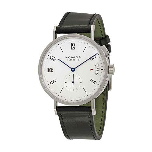 Price comparison product image Nomos Tangomat GMT White Dial Leather Strap Men's Watch 635