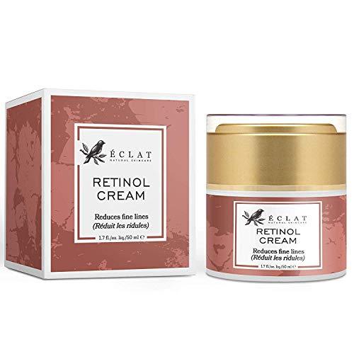 2,5% retinol gezichtscrème met vitamine C voor een verbeterd huidbeeld, zeer effectieve retinol crème met anti-aging effect, vochtinbrengende crème met natuurlijke abrikozenkern en ricinusolie. Retinol Cream Standard Retinol Cream Standard