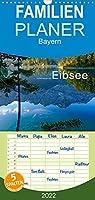 Unterwegs am Eibsee - Familienplaner hoch (Wandkalender 2022 , 21 cm x 45 cm, hoch): Der Eibsee im Jahreslauf (Monatskalender, 14 Seiten )