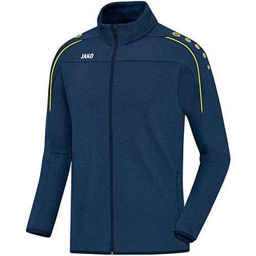 JAKO Kinder Classico Trainingsjacke, Nightblue/Citro, 140