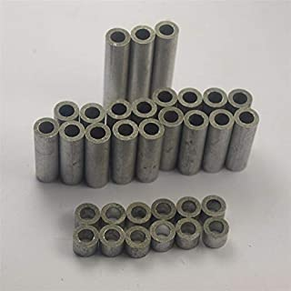 HEASEN OX X-Carve shapeoko CNC DIY Aluminum spacers kit/Set ID 5 mm 1-1/2 inch Aluminum Spacers 1/8 inch Aluminum Spacers 1/4
