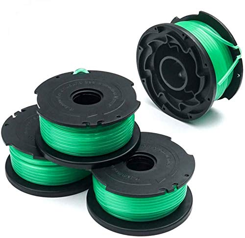 X Home 4 Pack GH3000 Replacement Spool, SF-080-BKP/SF-080 Trimmer Line Compatible with Black and Decker Weed Eater, Durable and Easy to Install