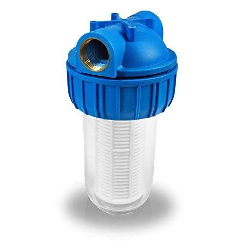 Hochwertige Vorfilter in verschiedenen Größen für Hauswasserwerk Pumpenfilter Hausfilter Pumpenvorfilter mit einer Maschenweite von 0,06 mm. Leistung 3000 l/h und 4000l/h + Montagezubhör. (3000 l/h)