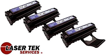 Laser Tek Services® 4 Pack Premium Compatible ML-2010d3 Toner Cartridge for the Samsung ML-2010 ML-1610