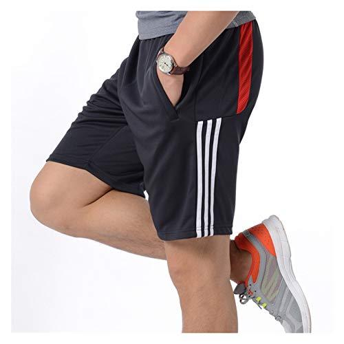 hgkl Shorts Herren Herren Laufen Shorts Fitnessstudio Tragen Fitness Workout Shorts Männer Sport Shorts Tennis Basketball Football Training Shorts (Color : Style2, Size : 5X-Large)