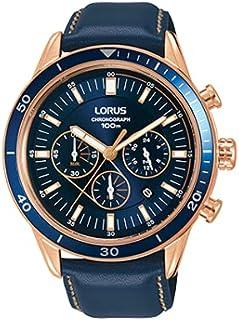 ساعة رياضية كرونوغراف بسوار جلدي للرجال من «لوراس» موديل RT306HX9