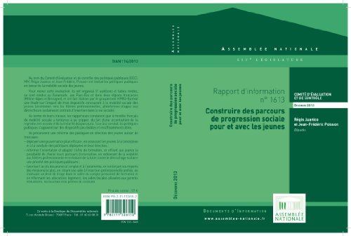 pas cher un bon Rapport d'information sur l'évaluation des politiques publiques en matière de mobilité sociale…