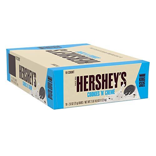 Hershey Cookies 'N' Creme King Size - Schokoriegel Kingsize, 18 Stück (18 x 73g)