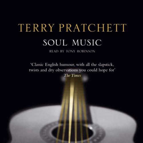 Soul Music audiobook cover art
