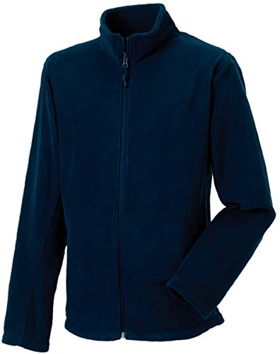 Russell Collection Fleece-Jacke R-870M-0, Farbe:French Navy;Größe:L L,French Navy