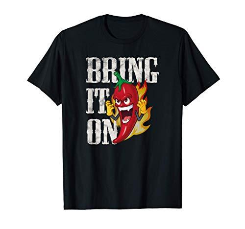 Bring It On, Divertido chilli pimiento, comida picante Curry Camiseta
