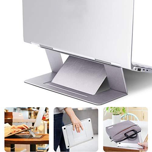 Draagbare Verstelbare Onzichtbare Laptopstandaard Naadloos Opvouwbare Notebookhouder Past Op Alle Laptops,Gray