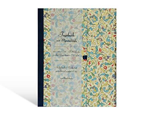 Tagebuch mit Magnetsschließe, dickes Skizzenbuch zum reinschreiben, Blanko-Buch mit weißen Seiten...
