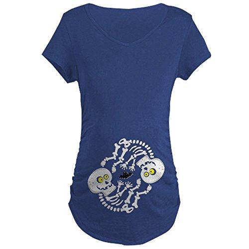 CafePress Maternity Skeleton Baby Maternity T-Shirt Cotton...