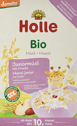 Holle Bio-Junior-Müsli mit Frucht, 8er Pack (8 x 250 g)