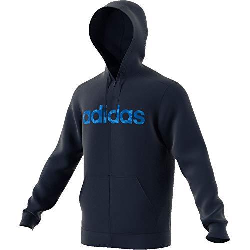 adidas Herren Hoodie Essentials Commercial Pack Fullzip Legend Ink/Collegiate royal/Blue XL