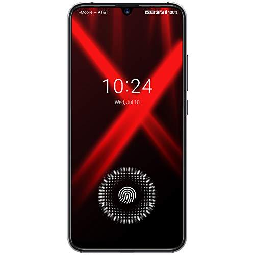 UMIDIGI X SIMフリースマートフォン 画面内蔵指紋センサー 6.35インチ 大画面 有機ELディスプレイ48MP+8MP+...