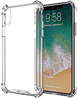 Gorella Apple iPhone XS MAX Shockproof Back Case With Screen Protector Clear
