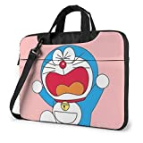 Angry Doraemon - Maletín para ordenador portátil Busin para hombres y mujeres, hombro Menger portátil funda de transporte - 15.6 pulgadas