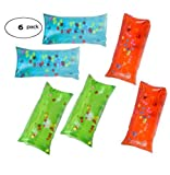 Fun Land 5' Inch Water Snake Water Wigglies, Wigglers with Colorful Beads and Glitter Set of 4