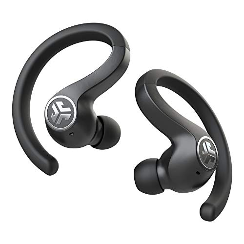 JLab Audio JBuds Air Sport True Wireless Bluetooth Earbuds + Charging Case - Black - IP66 Sweat Resistance - Class 1 Bluetooth 5.0 Connection - 3 EQ Sound Settings JLab Signature, Balanced, Bass Boost